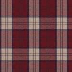 Highland Plaid - Red Fabric