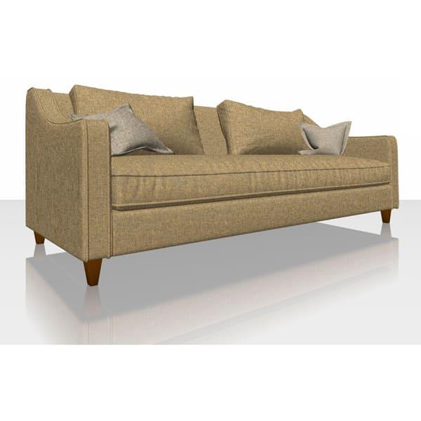Aquaclean Weave - Saffron - Sofa Cover