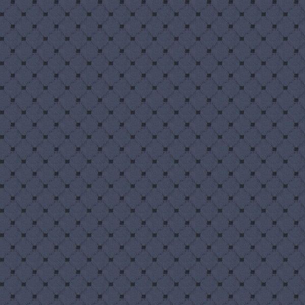 Cotton Diamond - Navy Blue