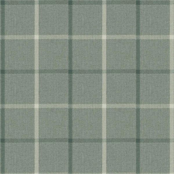 Highland Check - Aqua