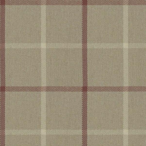 Highland Check - Caramel