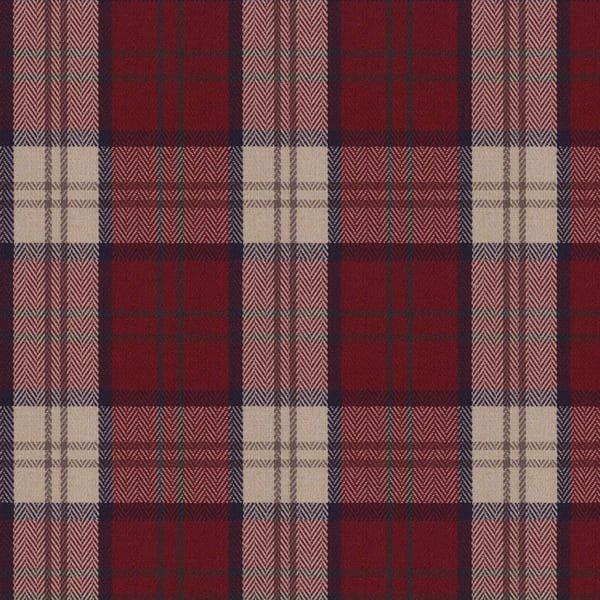 Highland Plaid Red