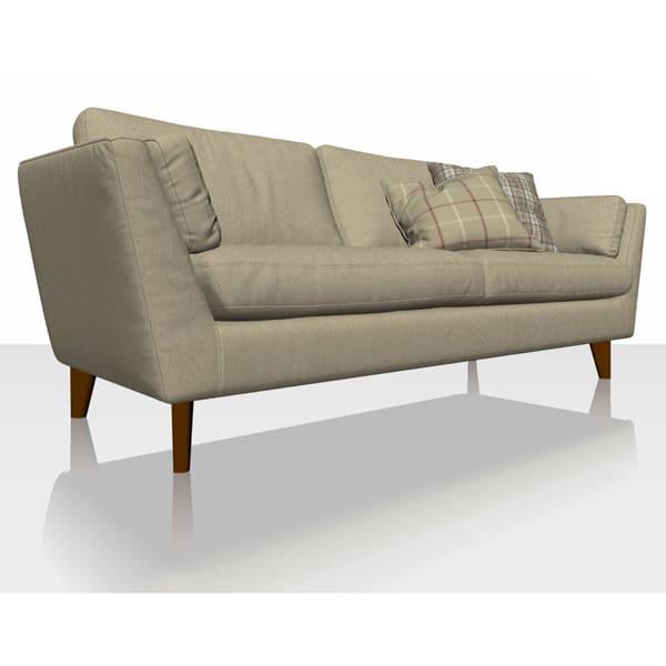 Signature Herringbone - Caramel - Sofa Cover