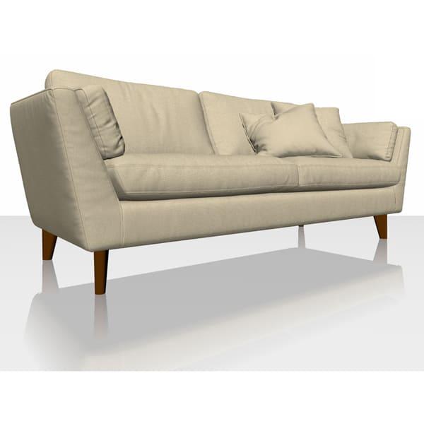 Signature Herringbone - Cream - Sofa Cover