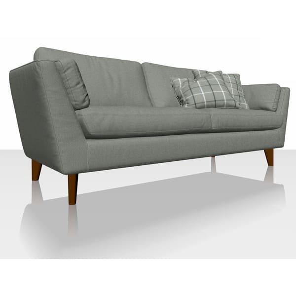 Signature Herringbone - Granite - Sofa Cover