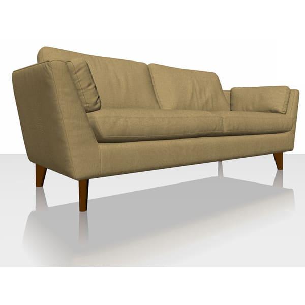 Signature Herringbone - Hemp - Sofa Cover