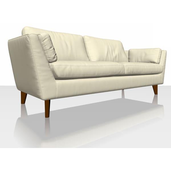 Signature Herringbone - Ivory - Sofa Cover