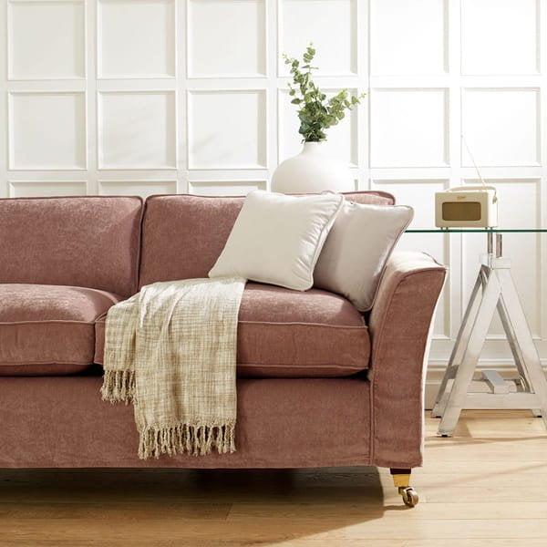 Everyday Velvet - Rose - Sofa Cover
