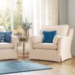 Luxury Cotton Weave - Stone - Sofa Cover