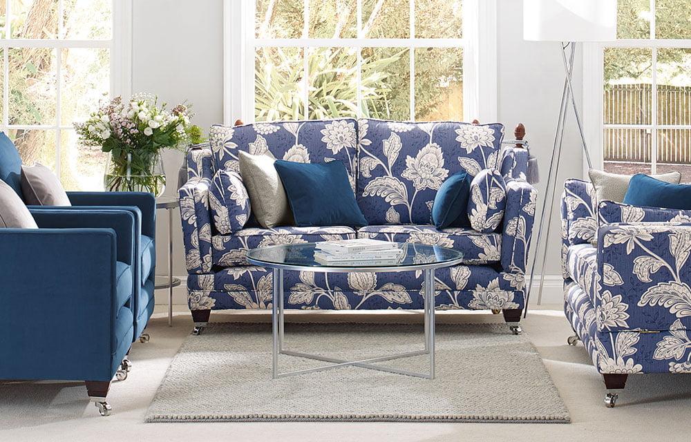 blue sofa covers
