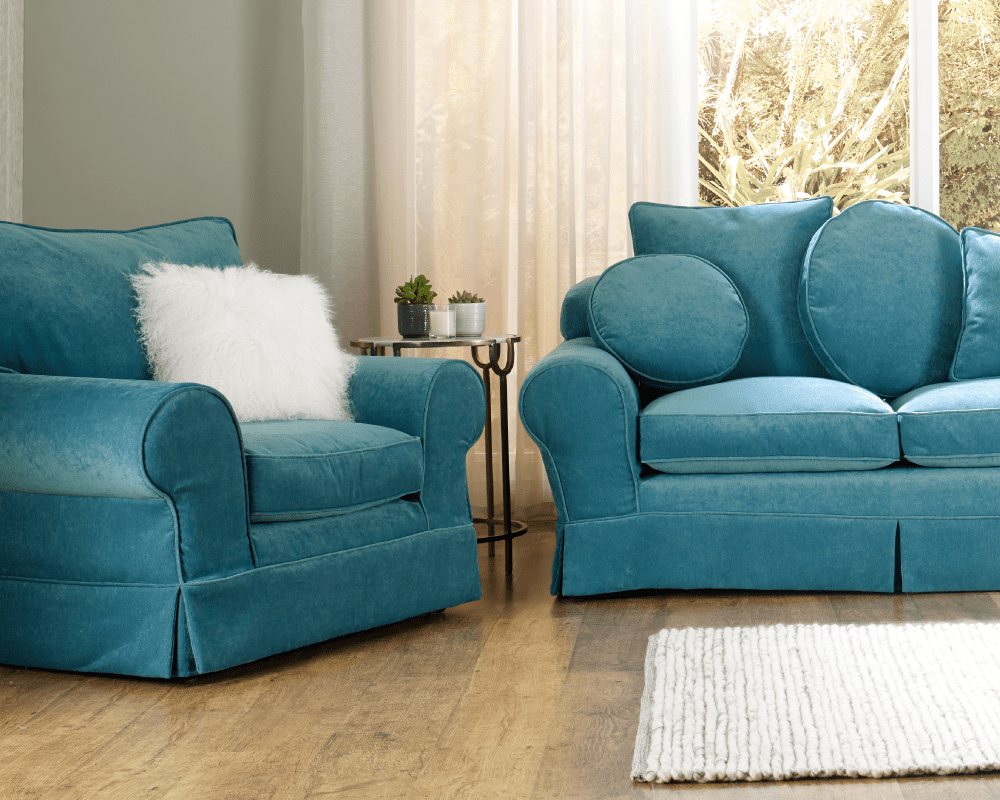 Choose your replacement 4 seater sofa cover from a huge range of fabrics and textures