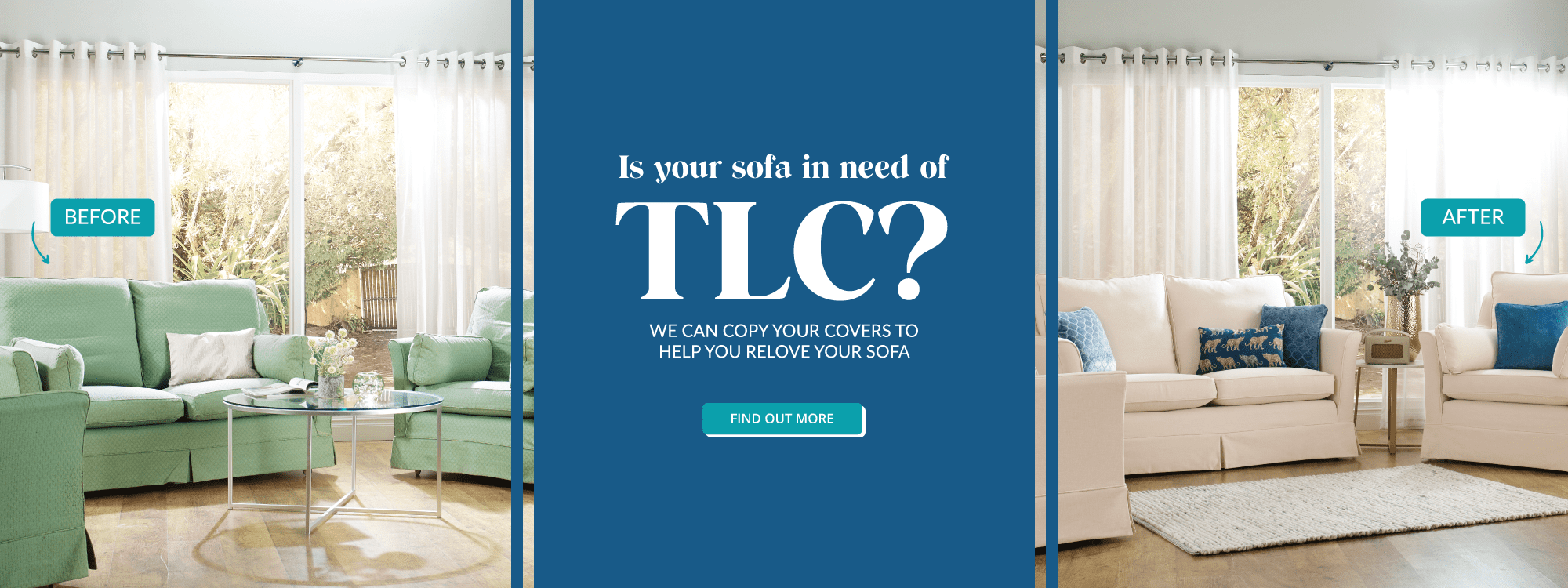 Is your sofa in need of TLC?