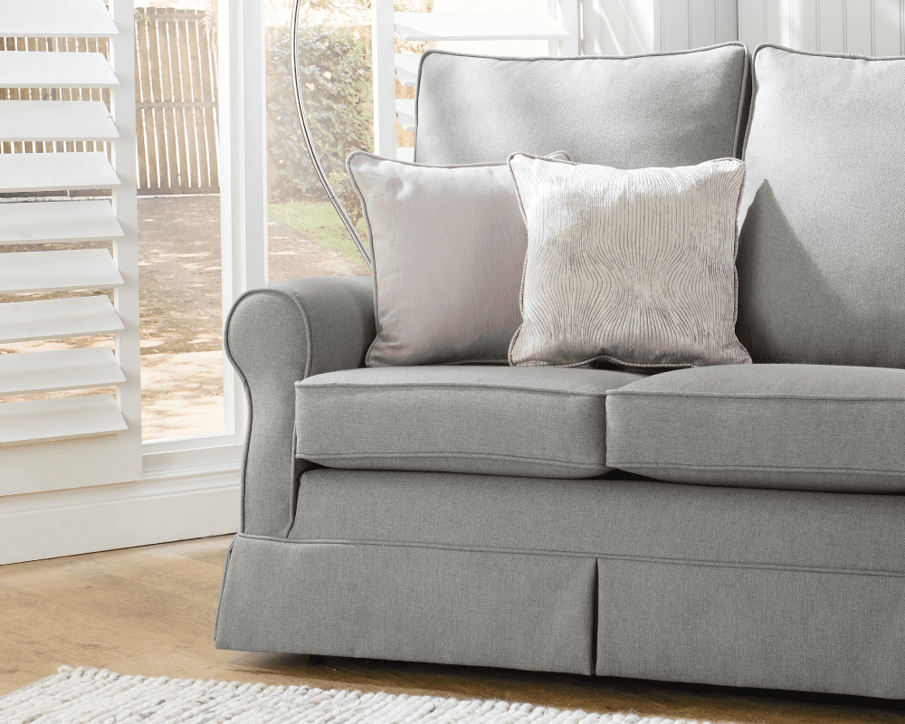 Choose your replacement corner sofa cover from a range of fabrics and textures