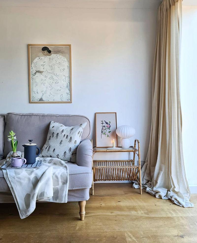 Luxury Cotton Weave, Sesame (@aliceinscandiland)