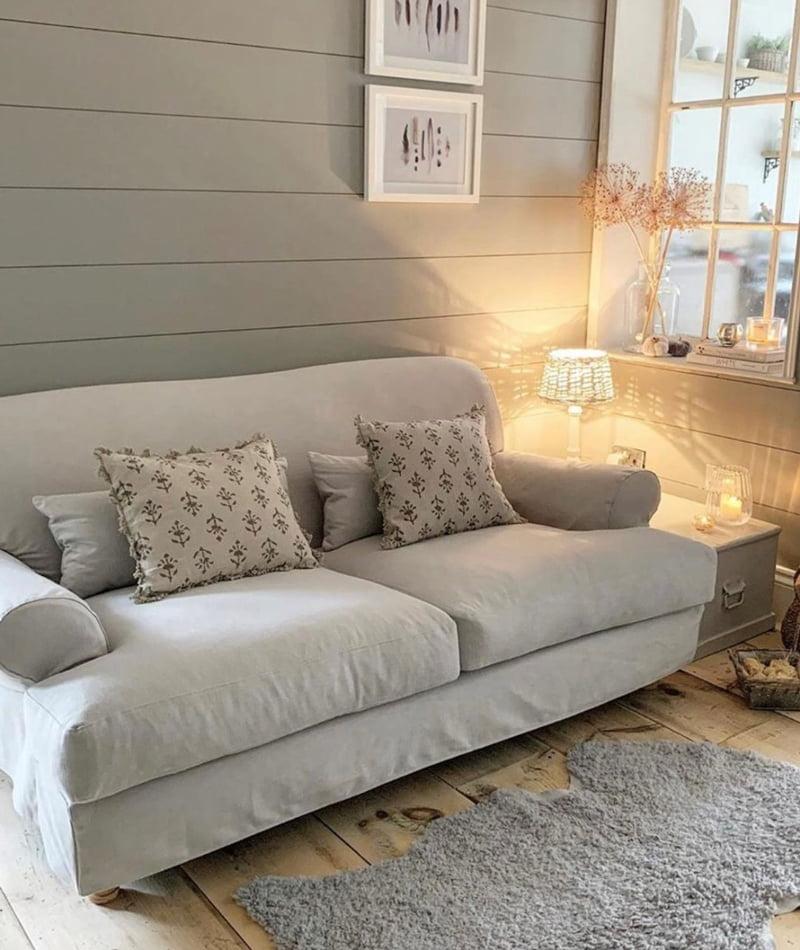 Luxury Cotton Weave, Regency Grey (@simplyscandikatie)