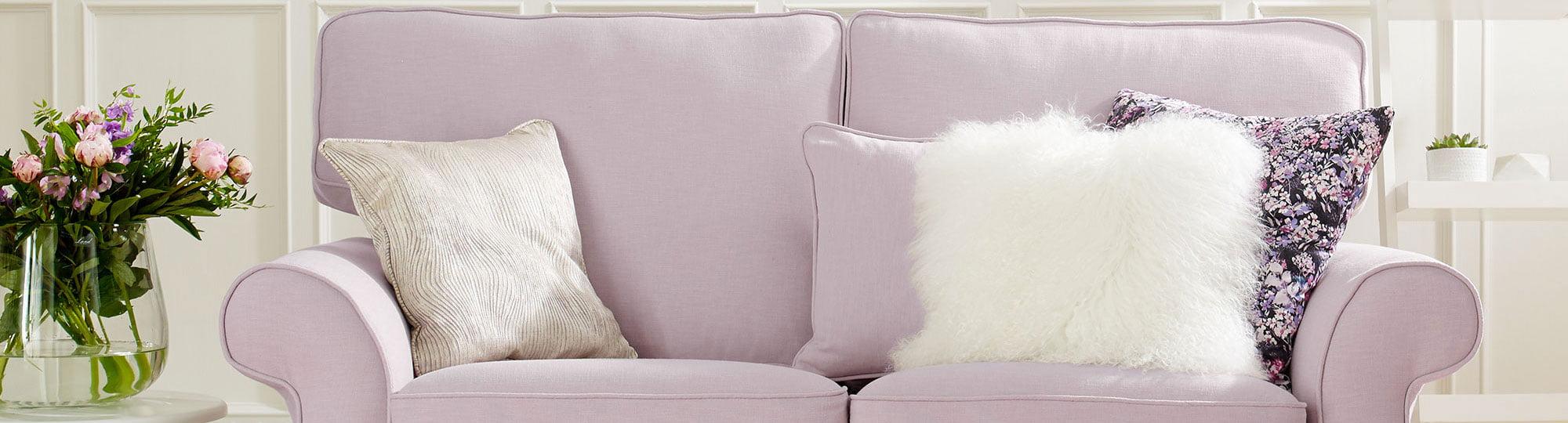 multiyork lilac sofa