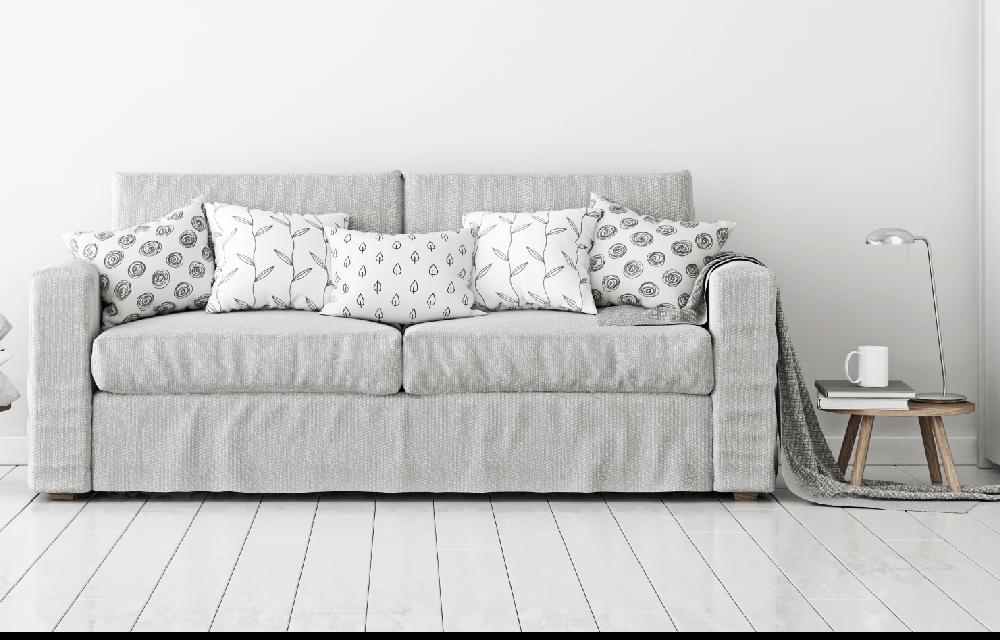 Light colour sofa